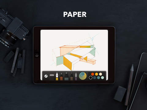 Apps For Graphic Designers To Use On The Go- Paper