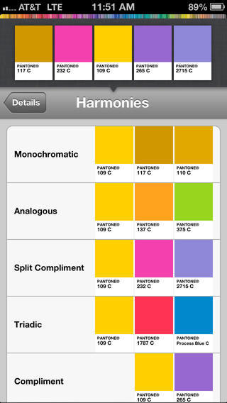 Apps For Graphic Designers To Use On The Go- myPANTONE
