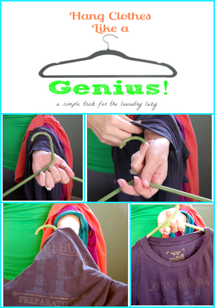Life Hacks For Your Clothing Closet Hang Clothes Like A Genius