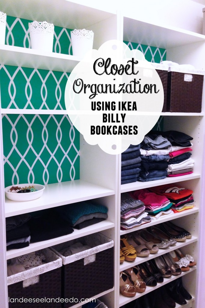 Life Hacks For Your Clothing Closet  Ikea Billy
