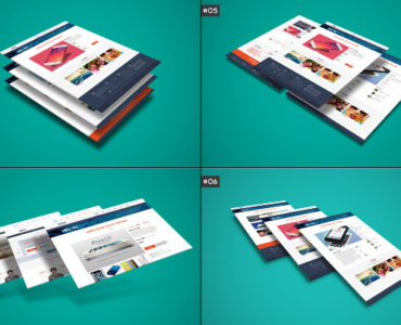 PSD Website Mockups