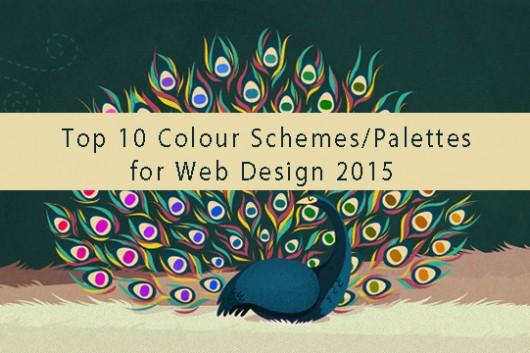 Top 10 Colour Schemes/Palettes for Web Design 2015