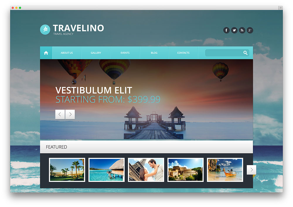 WordPress Hotel Booking Teme