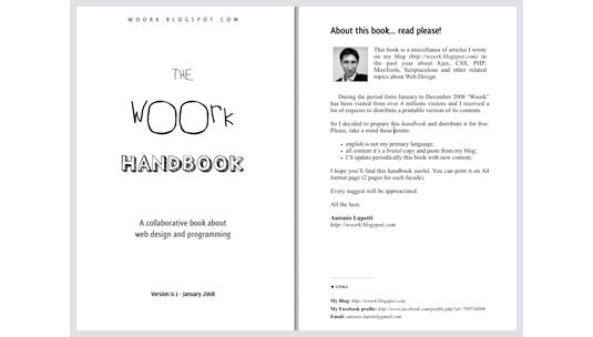 the woork book