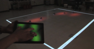 New Technology Lets You Control Swarms Of Robots With Your Fingertips