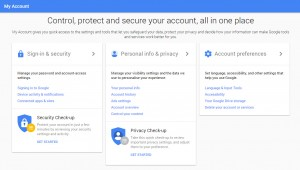 Google privacy and security