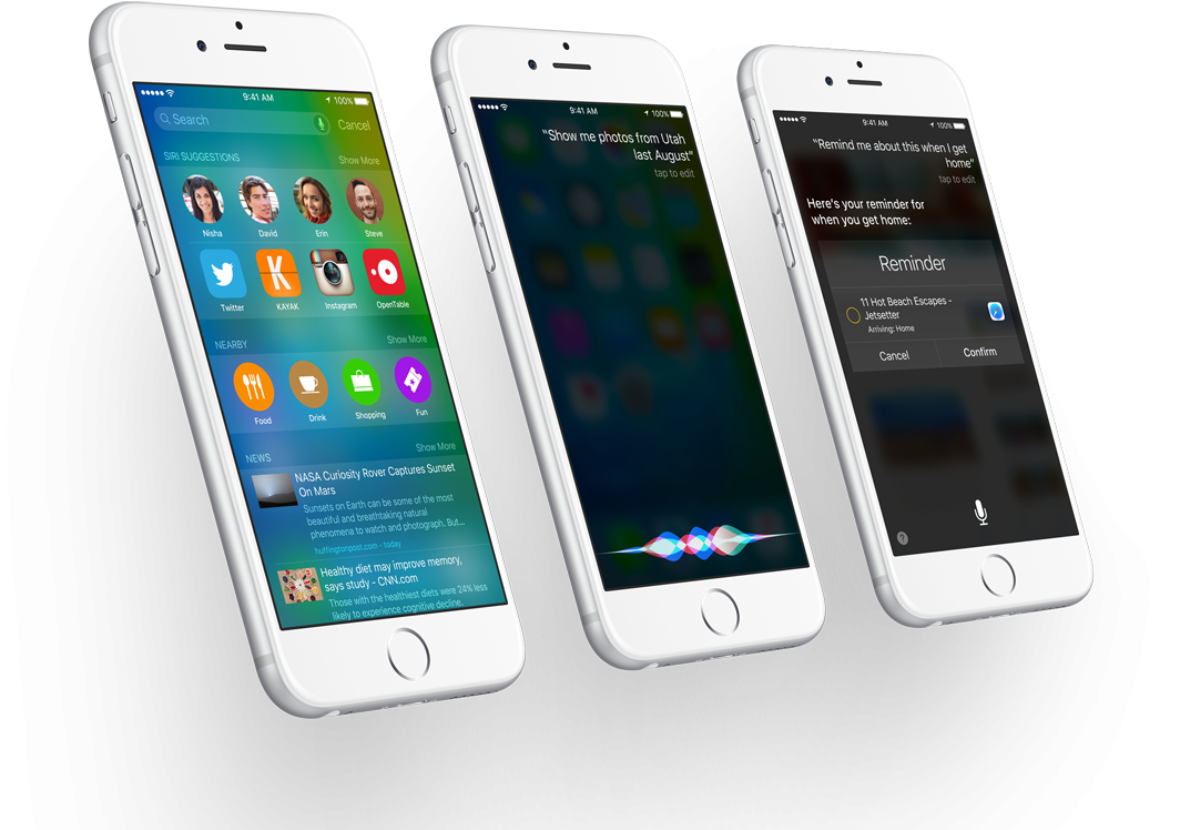 iphone firmware update new features of ios 9 to include an anticipation engine 4881