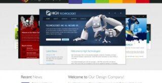 design company free HTML CSS template
